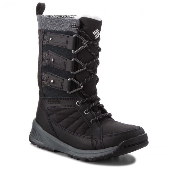 Botas de nieve COLUMBIA Meadows Shorty Omni Heat 3D BL5967 BlackSteam 010