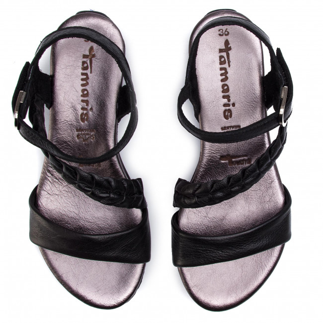 Zapatos Diario Mujer 28232 Y De Tamaris Comb Sandalias 1 Black 098 22 Para Chanclas vN0wm8On
