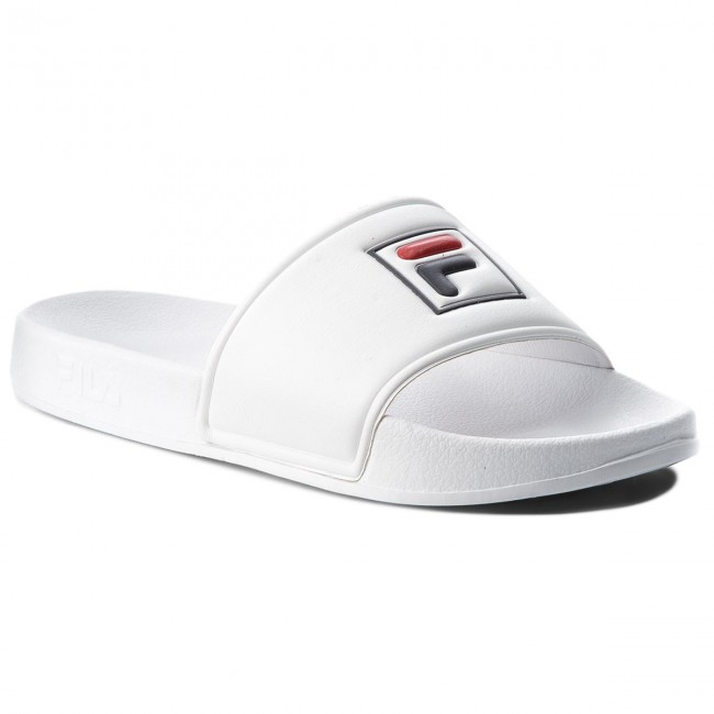 White Fila Palm Wmn Beach Chanclas Slipper 1010341 1fg BoexQrWEdC