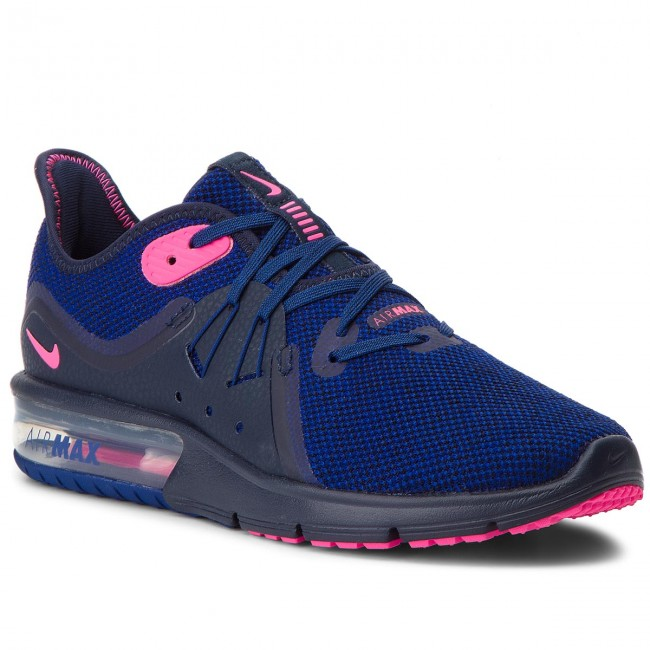 Zapatos NIKE Air Max Sequent 3 908993 403 ObsidianPink Blast