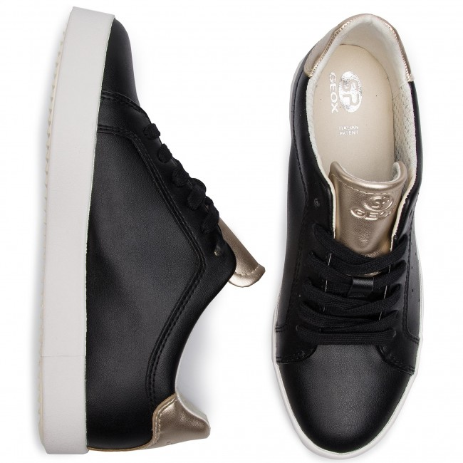 Blomiee Sneakers lt Mujer D Gold C9258 Black D926hb B 054aj Geox Zapatos De qMSzVUpG