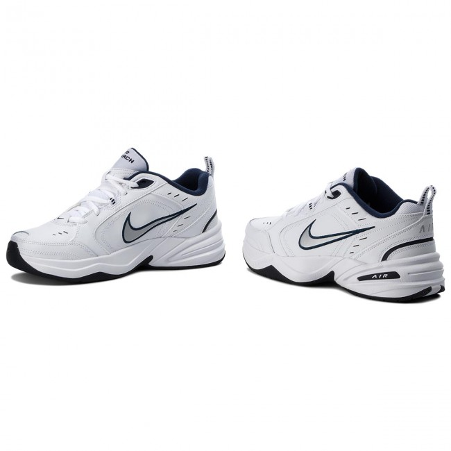 Zapatos NIKE Air Monarch IV 415445 102 WhiteMetallic Silver