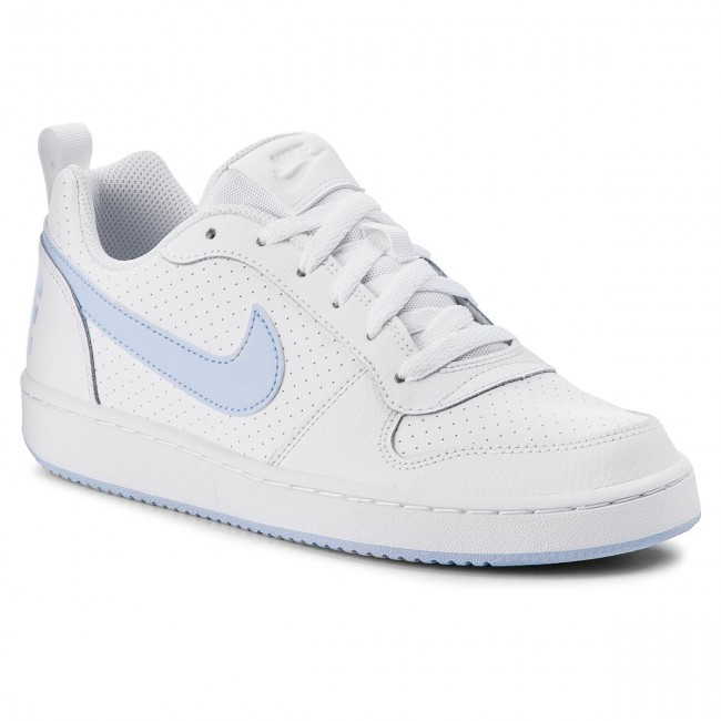 Zapatos NIKE Court Borough Low (GS) 845104 103 WhiteRoyal Tint