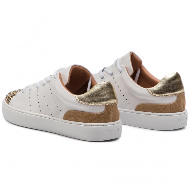 Sneakers De 00001 Zapatos Sneaker 191tcp04l Twinset Ottico Bianco Mujer BoCxWQerEd