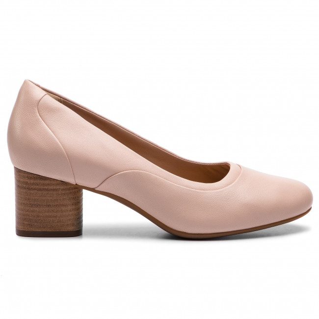 Clarks 261409654 Cosmo De Tacón Blush Leather Mujer Zapatos Un Step b6mIfYgy7v