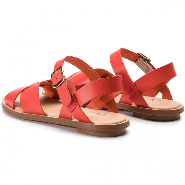 Sandalias 261407764 De Willow Y Zapatos Diario Orange Para Mujer Clarks Gild Chanclas Leather yYbf7g6