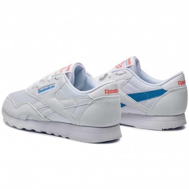Nylon White Red De Cl Zapatos Reebok blue Sneakers Mujer Txt neon Cn6684 K1c35TFulJ