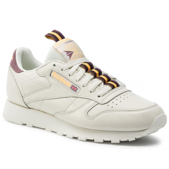earth Leather Mu Dv4083 Cl Hombre Reebok orchid gold Zapatos Sneakers Chalk De nX8wON0Pk