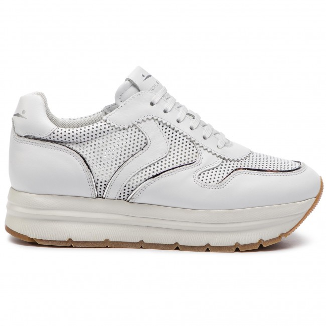 Voile 0012013823 Blanche De 01 Sneakers 0n01 May Mujer Bianco Perfy Zapatos uZPXik