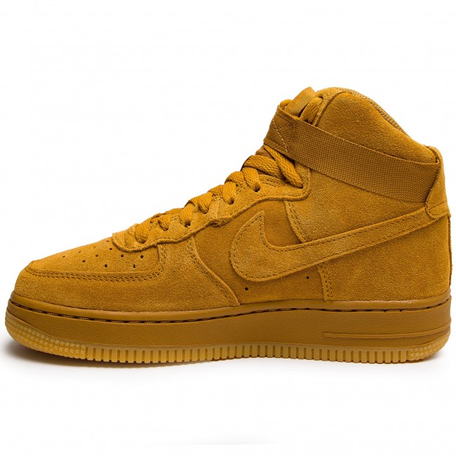 De Light Brown 1 701 Zapatos Air Nike Gum Lv8gs807617 Force Mujer Sneakers High Wheat wheat IfvY76ybg