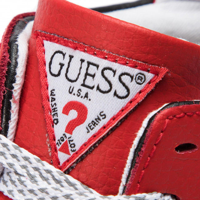 Zapatos Guess De Hombre Red Madison Sneakers Fm6mad Lea12 P08OnwkX