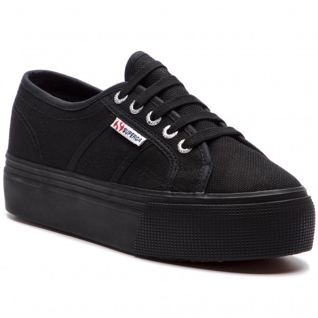 Zapatillas de tenis SUPERGA 2790 Cotw Linea Up And Down S0001L0 Full Black 996