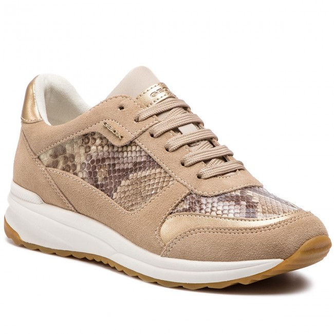 Geox C Currylt D642sc Airell C2dh6 D Sneakers 0ki22 Taupe I6yY7fgbv