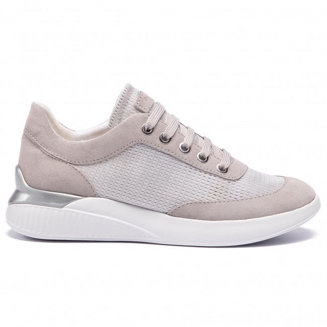 Sneakers Geox Zapatos D 0ly22 Grey C Mujer Silver lt D928sc De C0898 Theragon CrxBeWdo