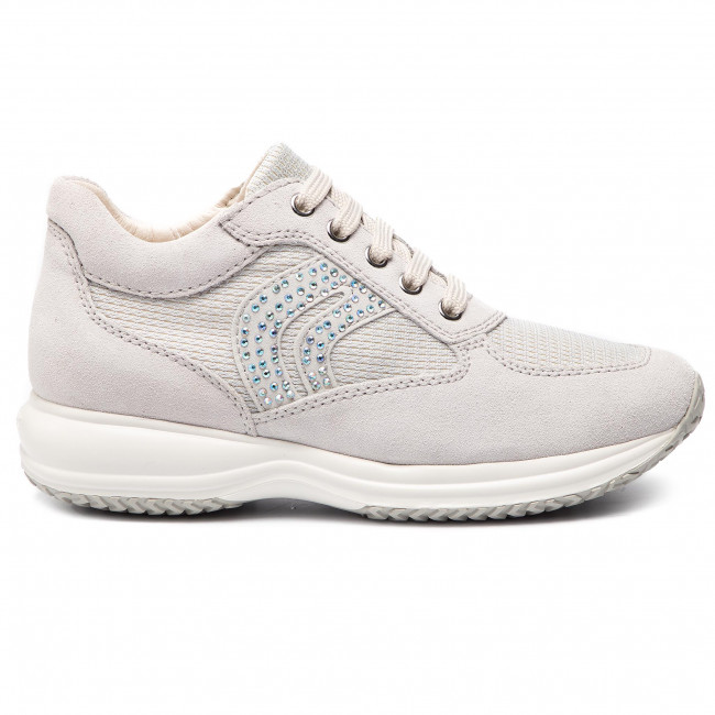 silver D C Happy D5462c Off De Zapatos Mujer Geox C0626 Sneakers White 022ly NnXwP80kO