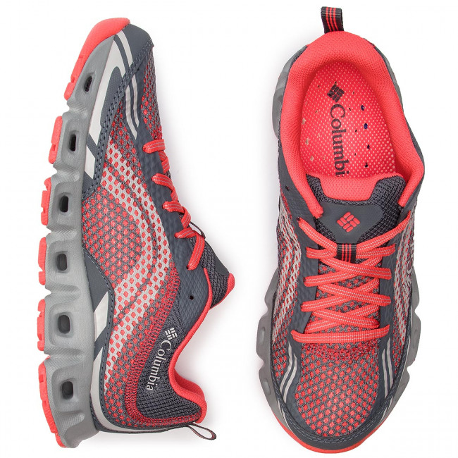 Zapatos Botas De Iv Coral Columbia Bl4617 Graphite red Montaña Mujer Drainmaker F1Kucl5JT3