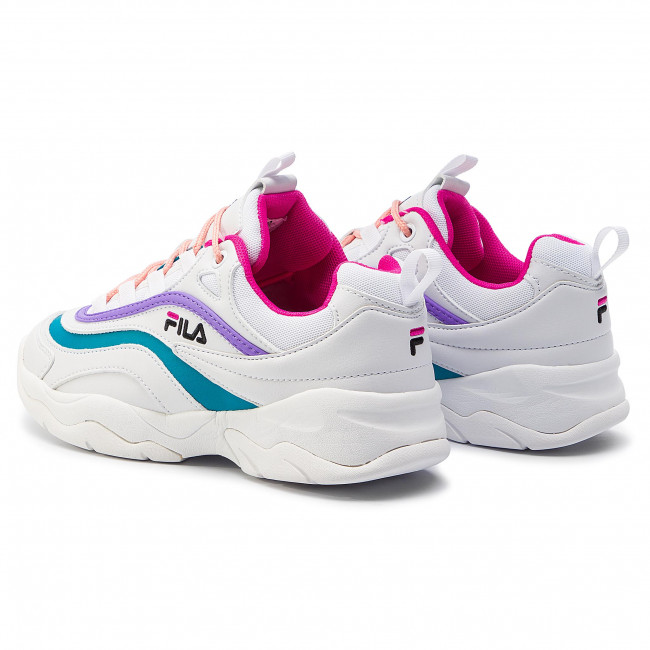 Sneakers FILA - Ray Low Wmn 1010562.03A White/Very Berry/Caribbean Sea