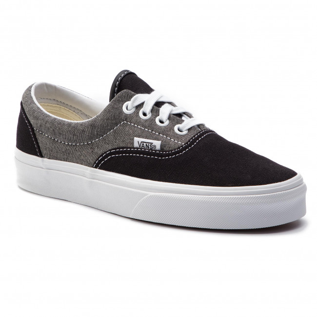 vans canvas negras mujer