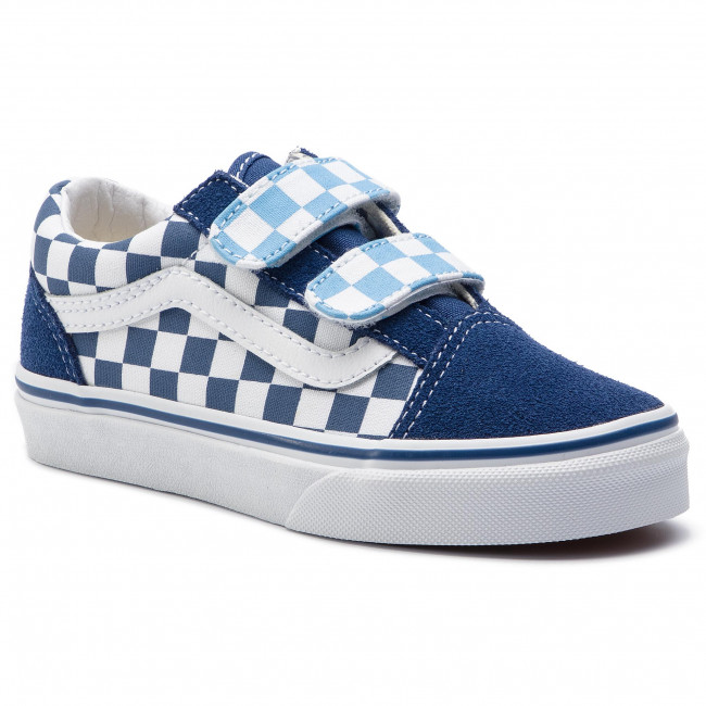 Navy Tenis Vans Skool De Vn0a38hdvdx1checkerboardTrue Old V Zapatillas Rc54Aq3jL