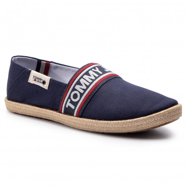 Alpargatas Tommy Jeans - Stripe Summer Shoe Em0em00222 Ink 006