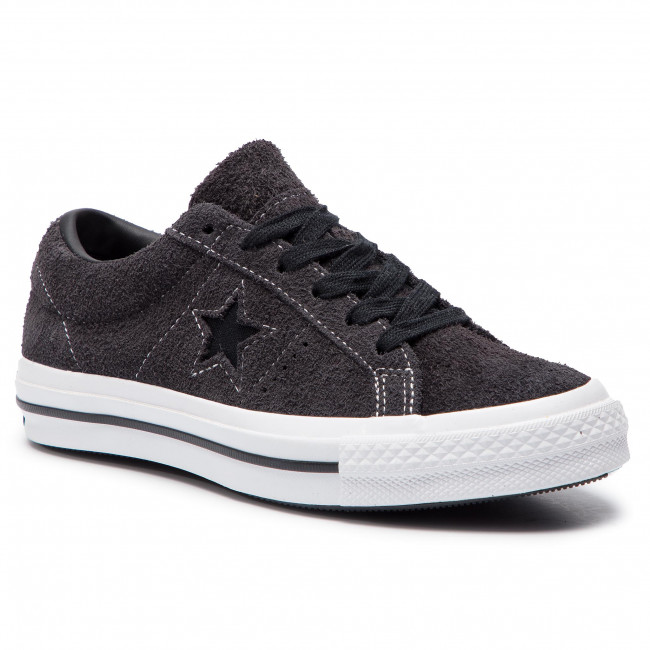 Mujer One Zapatillas white Almost black Zapatos Converse C163247 Tenis De Star Ox Black eWdBrCxo