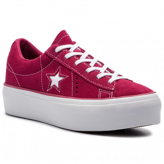 converse one star platform mujer