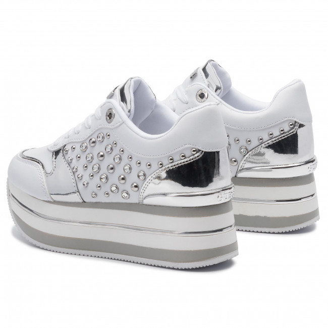 Sneakers Guess - Humbull Fl7hum Ele12 White Zapatos
