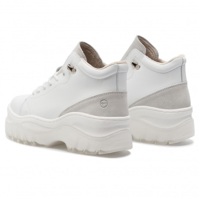 25248 Zapatos Sneakers 117 De Mujer White 1 Leather Tamaris 31 E9WY2IDH