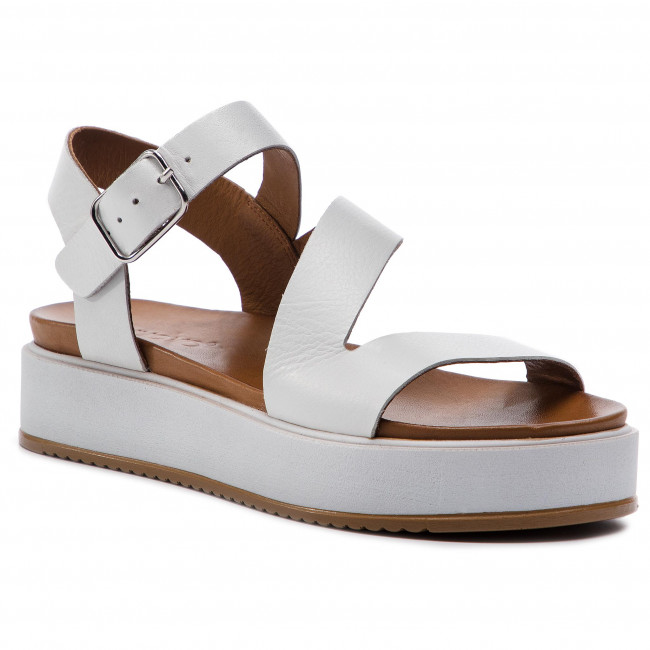 Inuovo Mujer Sandalias De White Chanclas 112003 Zapatos Y wOuilPkZXT