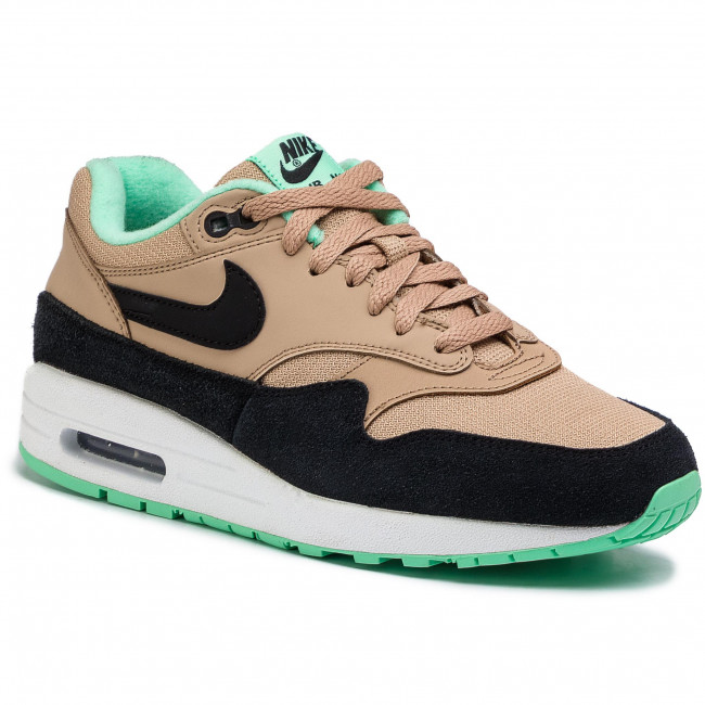 Zapatos NIKE Air Max 1 319986 206 DesertBlack Green Glow White