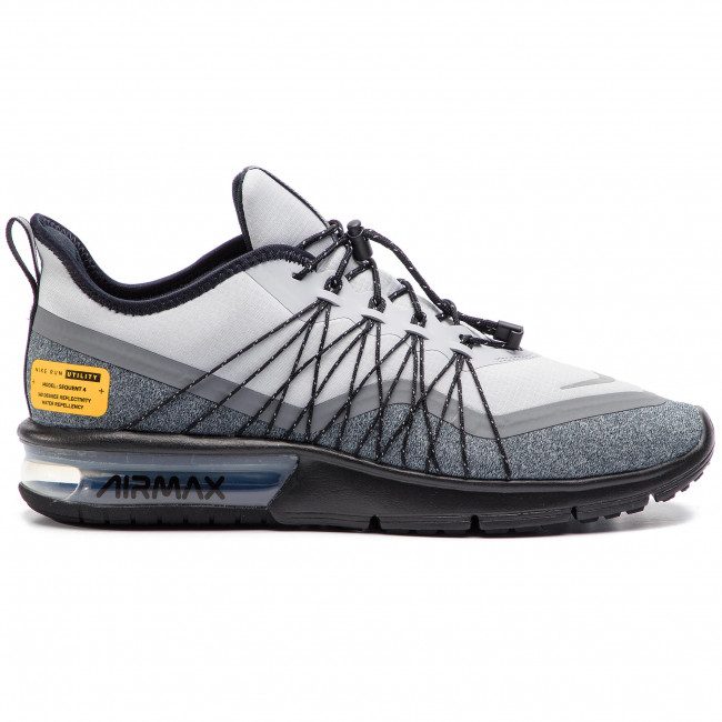Mujer Air Max Sequent 4 Utility NegroBlancoAntracita
