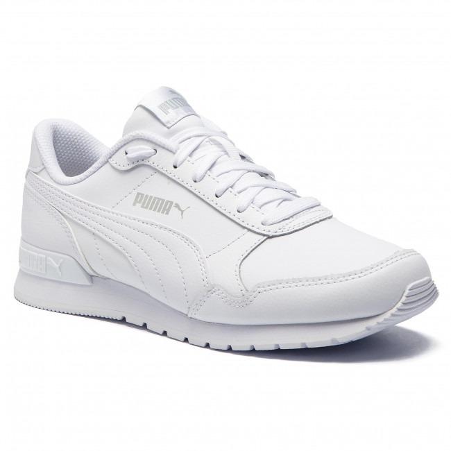 Sneakers Puma - St Runner V2 L Jr 366959 02 White/gray Violet Zapatos