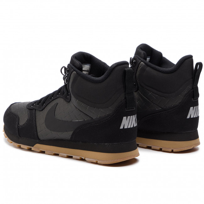 Zapatos NIKE Md Runner 2 Mid Prem 844864 006 BlackBlackGum Light Brown