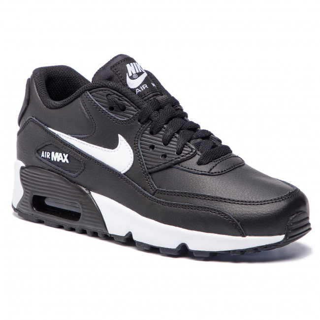 Zapatos NIKE Air Max 90 Ltr 90 (GS) 833412 025 BlackWhitAntracite