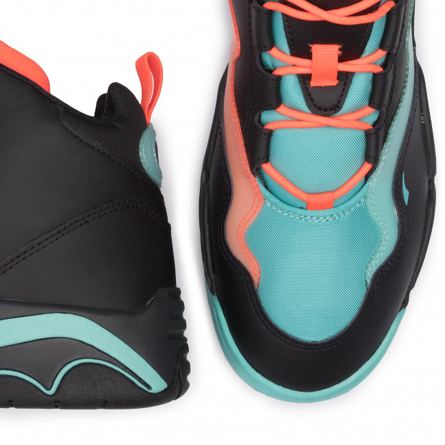 Sneakers PUMA - Source Mid Buzzer 370598 01 P Blk/Nrgy Red/Blue Turquoise - Sneakers