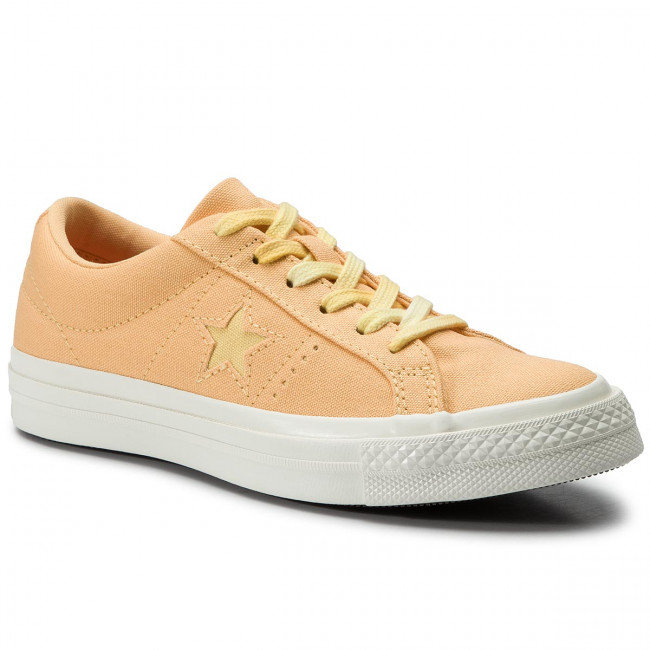 Zapatillas De Tenis Converse - One Star Ox 564153c Melon Baller/butter Yellow Zapatos
