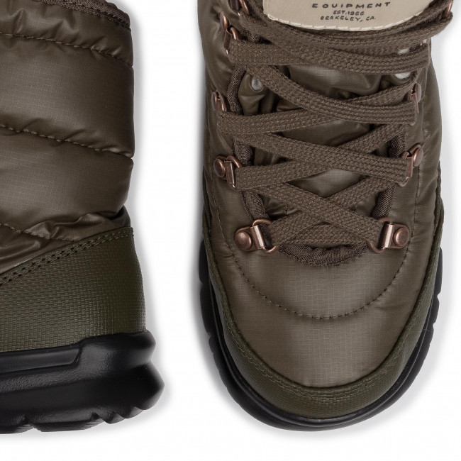 Botas De Nieve The North Face - Thermoball Lace Ii Nf0a2t5lrh6 New Taupe Green/vintage White Y Otros Zapatos Mujer