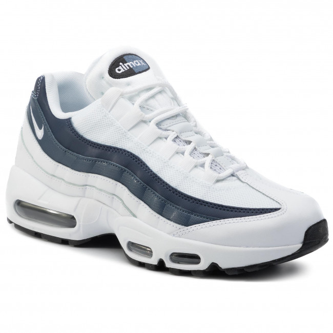 114 midnight 749766 Navy Max Zapatos Nike Sneakers De white Air 95 Essential White Hombre f76gyb