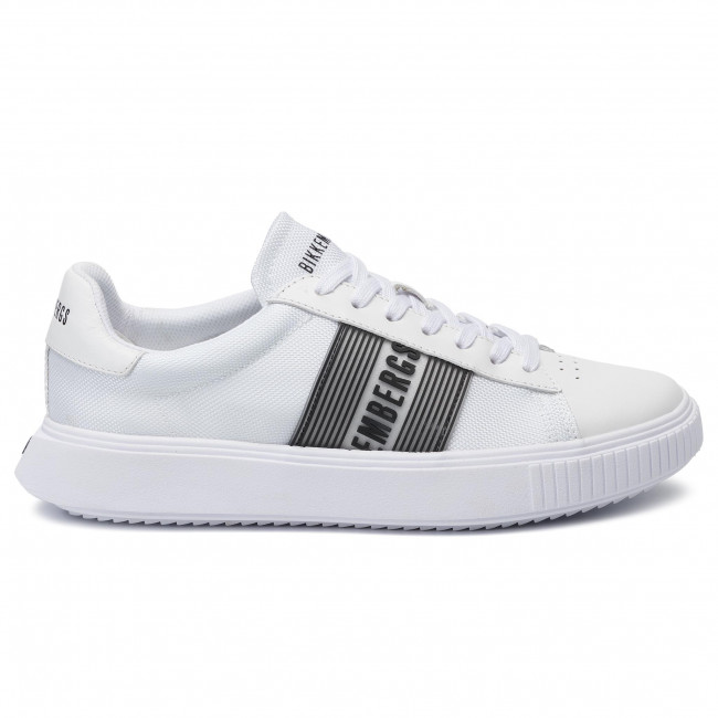 Sneakers BIKKEMBERGS Low Top Lace Up B4BKM0027 White