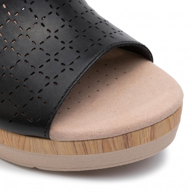 Y Glory Plataforma De En Sandalias Chanclas 261399214 Cammy Clarks Mujer Black Zapatos Leather N8wn0OkXP