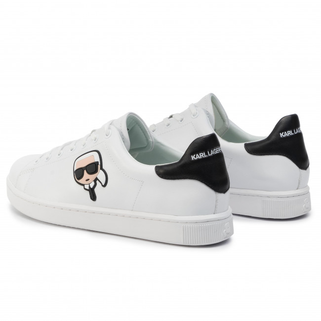 White Lagerfeld Lthr Hombre Kl51209 De Karl Zapatos Sneakers 9YWED2IH