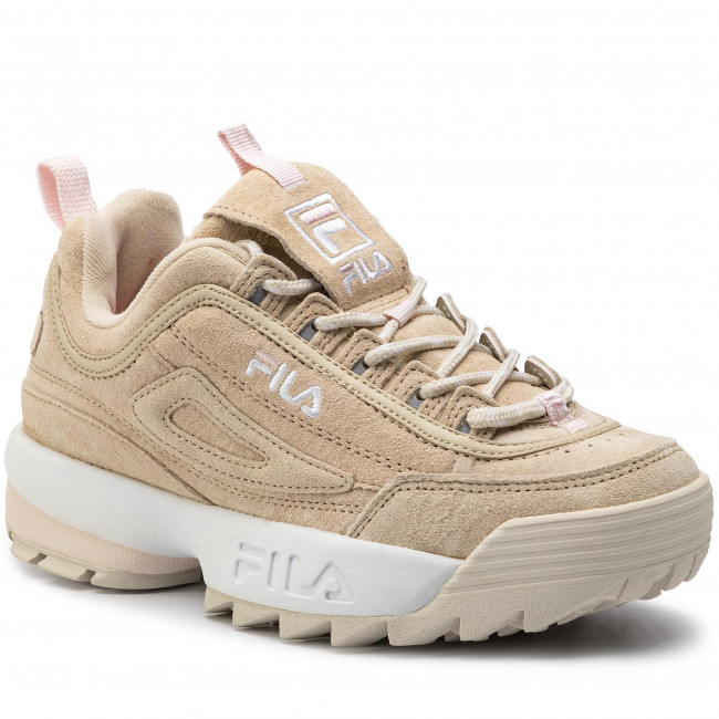 Fila Zapatos Sneakers Disruptor De 1010605 Low Wmn Feather Gray Mujer 00j S 1JlKcF