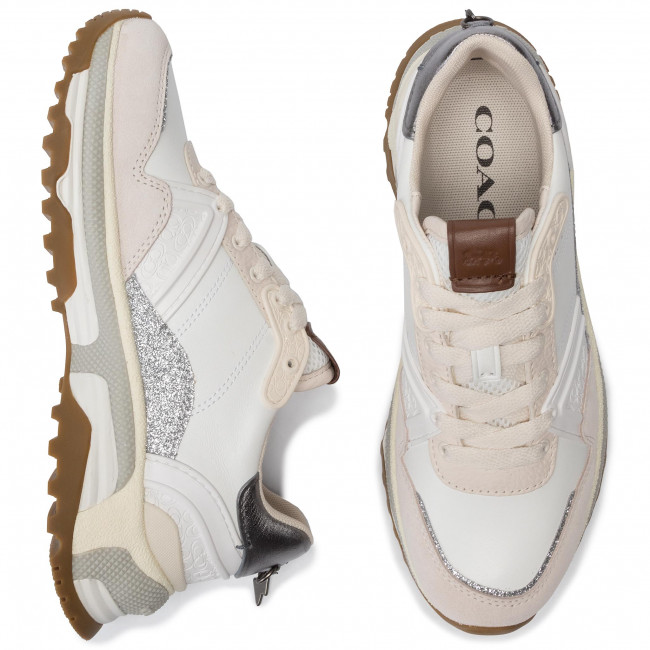 De C143 G3014 Mujer Sneakers Sue Ltr 231756 Zapatos Glt Coach Whte chalk 76fvbgYy
