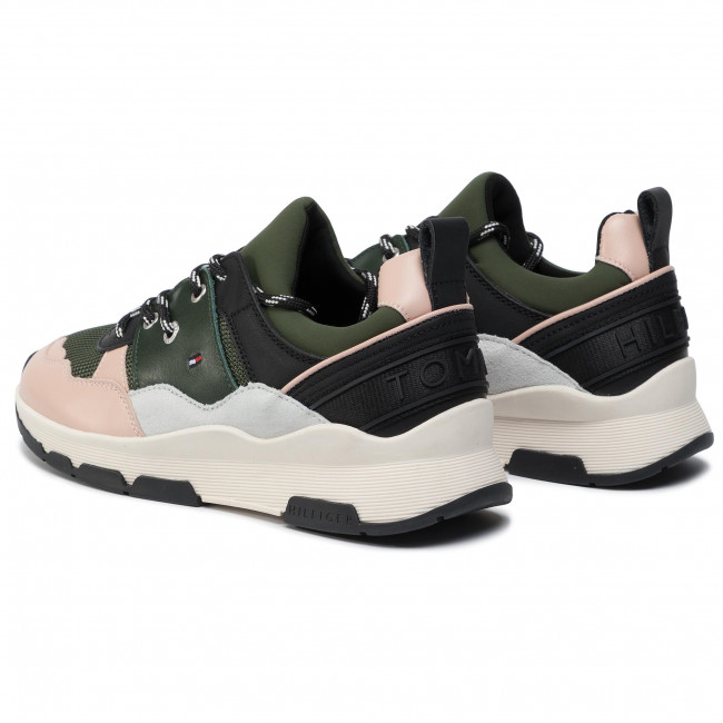 Sneakers TOMMY HILFIGER Sporty Chunky Sneaker FW0FW04294 Stone Gray PFQ