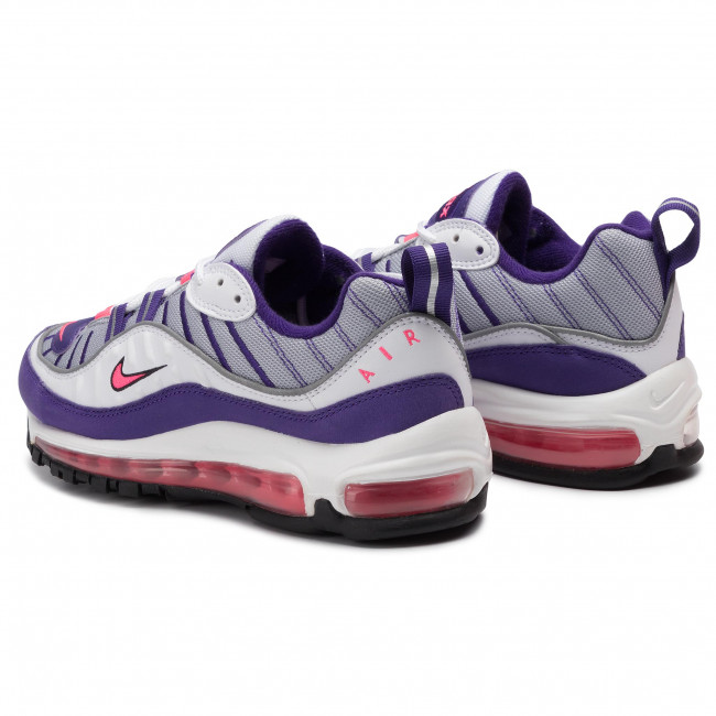 Mujer Pink Air Ah6799 Nike racer Max 98 Zapatos Sneakers De 110 White 8nmNOyP0vw