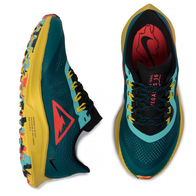 bright Zapatos Mujer Trail Correr 301 Ar5676 Zoom Deportivas Zapatillas Teal Crimson Air Pegasus Para Outdoor De 36 Geode Nike On0Pwk