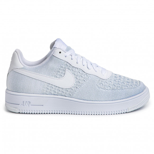 nike air force 1 flyknit 2.0 negro pure