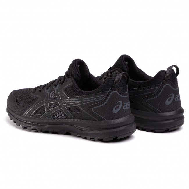 Zapatos ASICS - Trail Scout 1012A566 Black/Carrier Grey 001