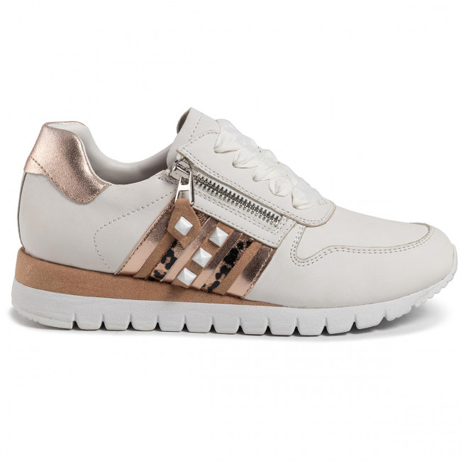 Sneakers CAPRICE - 9-23701-24 White/Rosegold 196 - Sneakers - Zapatos - Zapatos de mujer