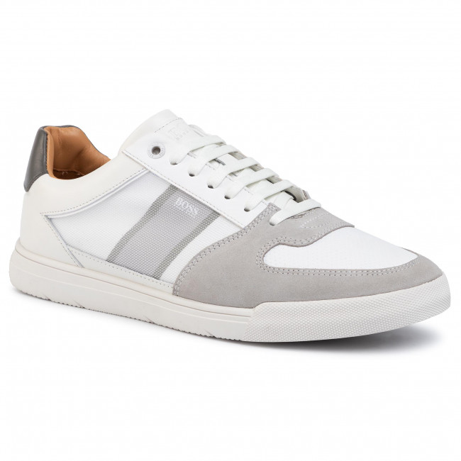 Sneakers BOSS - Cosmopool Tenn 50417937 10214585 110 Open White 110
